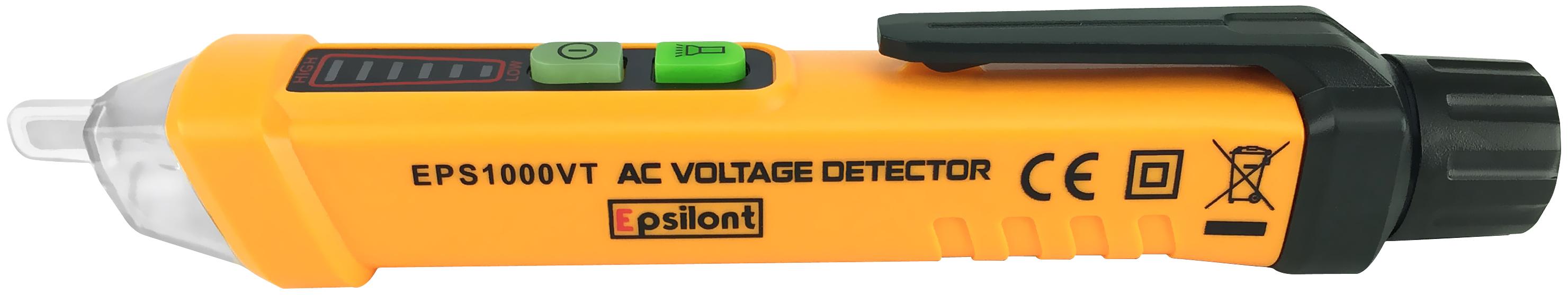 Epsilont Voltage Tester Pen Ac Detector For Use On 50 60hz Circuits 12v 1000v Sale 1995